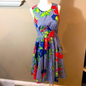 Plenty by Tracy Reese Dress Fit and Flare Sz 6